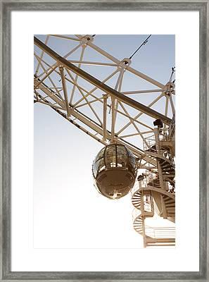 Capsule From London Eye. London. United Kingdom Framed Print by The Art Markets
