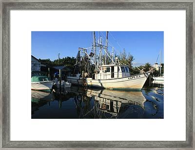Capt Cj Framed Print by Tara Moorman Photography
