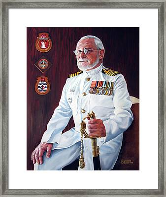 Capt John Lamont Framed Print