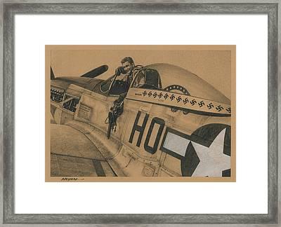Capt. Raymond H. Littge 1945 Framed Print