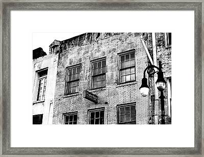 Captain Andy's Framed Print by John Rizzuto