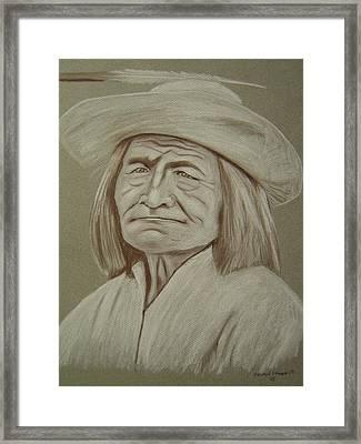 Captain Bill Burro-havasupai Framed Print