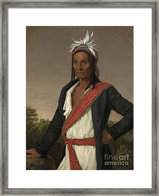 Captain Cole Framed Print by William John Wilgus