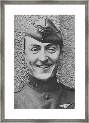 Captain Eddie Rickenbacker Framed Print