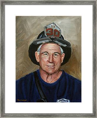 Captain E.j. Framed Print by Paul Walsh