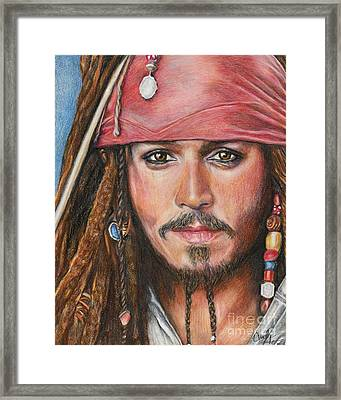 Captain Jack Framed Print