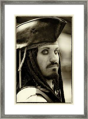 Captain Jack Sparrow Framed Print by David Patterson