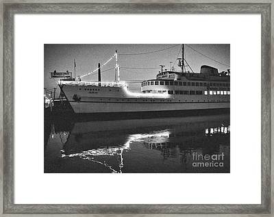 Captain John's Framed Print