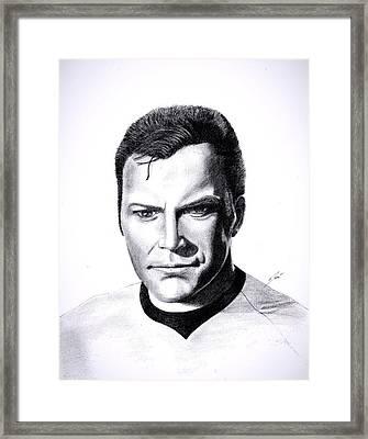 Captain Framed Print by Jose  Torres