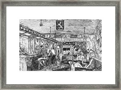 Captain Kidd Club Framed Print by Vic Delnore