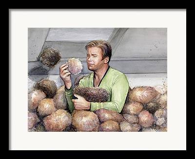 William Shatner Framed Prints