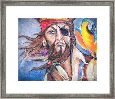 Captain One Eye Framed Print by David Millenheft