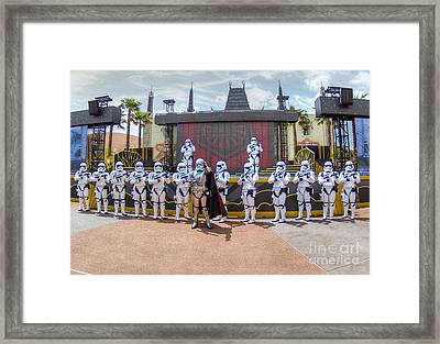 Captain Phasma And The First Order Framed Print