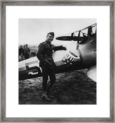 Captain Rickenbacker Framed Print by War Is Hell Store