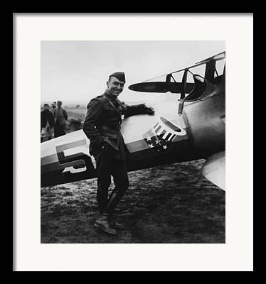 Eddie Rickenbacker Framed Prints