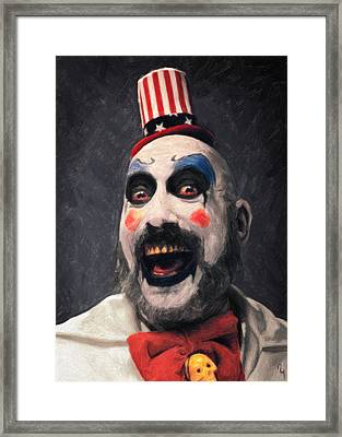 Captain Spaulding Framed Print