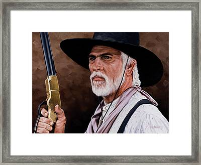 Captain Woodrow F Call Framed Print