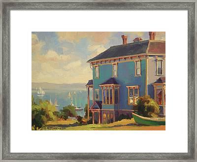 Captain's House Framed Print