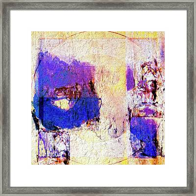 Framed Print featuring the painting Captiva by Dominic Piperata