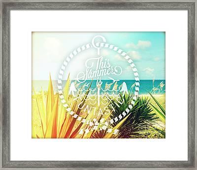 Captiva Island I Framed Print by Chris Andruskiewicz