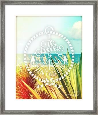 Captiva Island II Framed Print by Chris Andruskiewicz