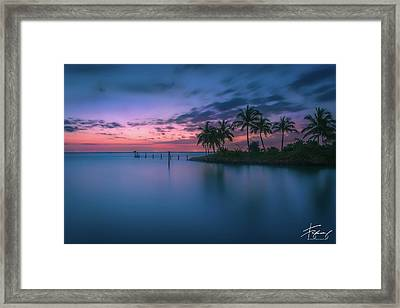 Framed Print featuring the photograph Captiva Sunset by Francisco Gomez