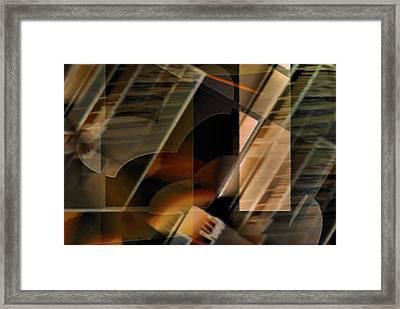 Captive Hearts Framed Print