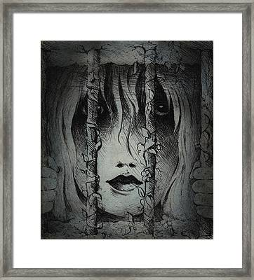 Captive I Framed Print by Rachel Christine Nowicki