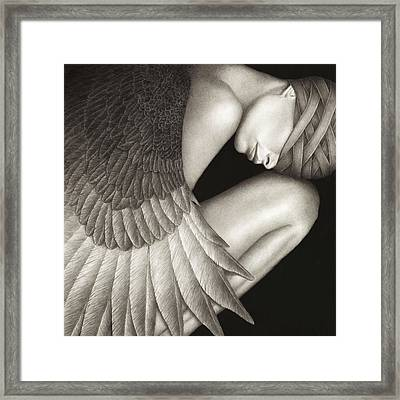 Captivity Framed Print by Pat Erickson