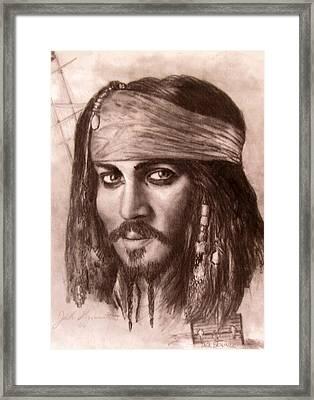 Capt.jack Framed Print by Jack Skinner