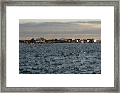 Captree Riptide Framed Print by Christopher Kirby