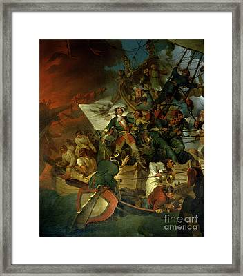 Capture Of Azov Framed Print