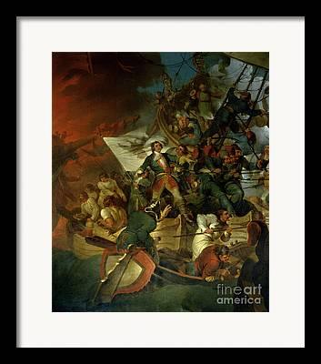 1695-96 Framed Prints