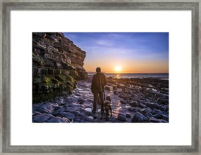 Capture The Moment Framed Print