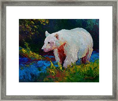 Capture The Spirit Framed Print by Marion Rose