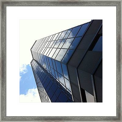 Captured Clouds Framed Print