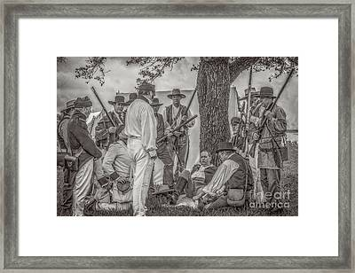 Captured Framed Print