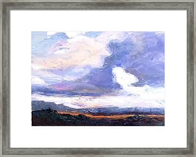 Captured Light Framed Print