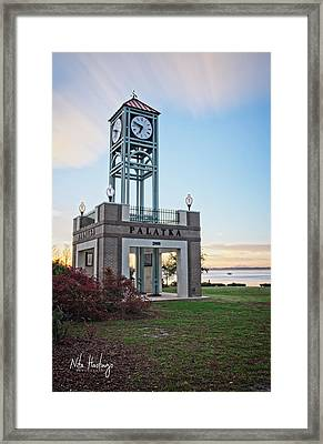 Captured Time Framed Print by Nita Hastings