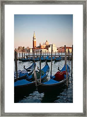 Capturing Venice  Framed Print by Carl Jackson