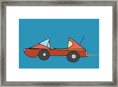 Car 1 Framed Print by Denny Casto