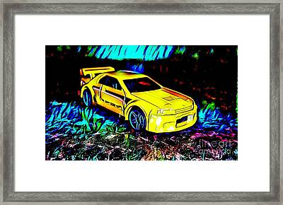 Car 4 Framed Print by Clint Day