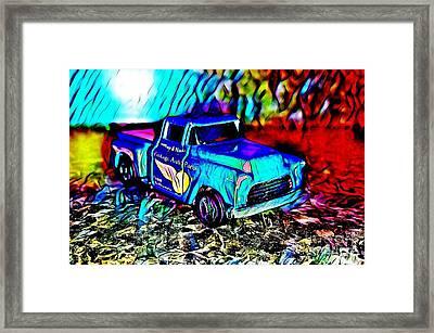 Car 5 Framed Print by Clint Day