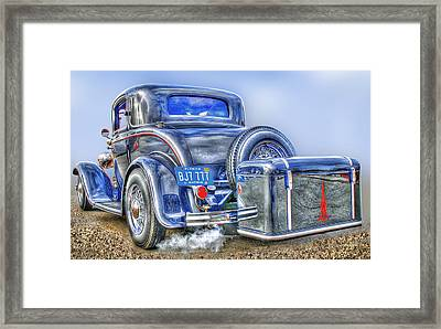 Car 54 Rear Framed Print