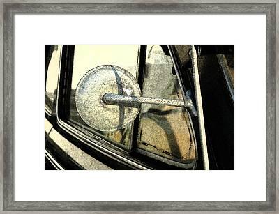 Car Alfresco I Framed Print by Kathy Schumann
