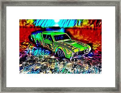 Car Framed Print by Clint Day