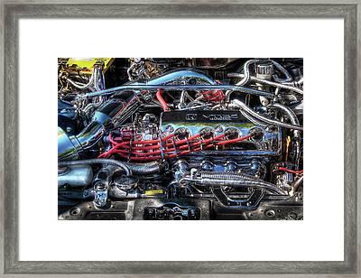 Car - Engine - Car Intestines Framed Print