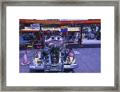 Car Eyes Framed Print by Garry Gay