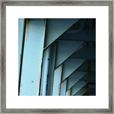 Car Ferry Framed Print