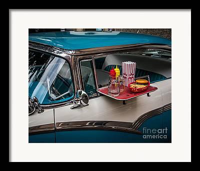 Old Drive In Framed Prints